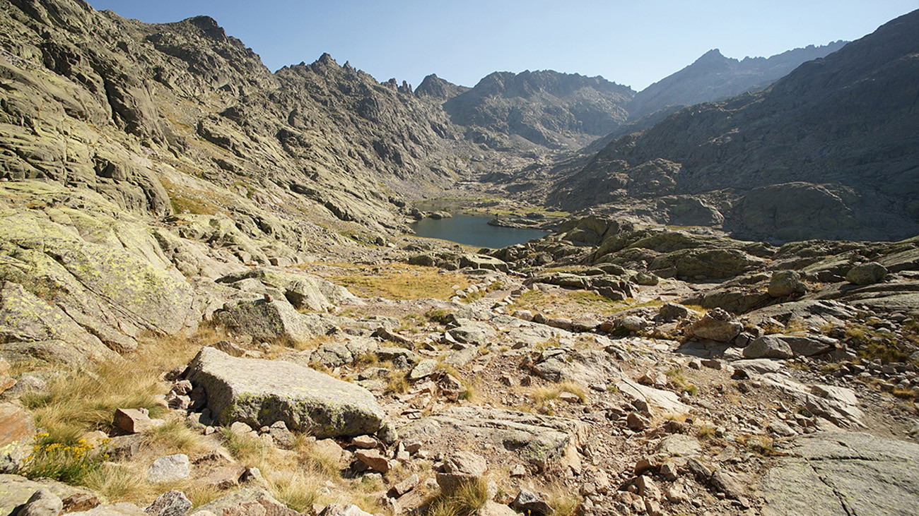 Die Sierra de Gredos sieht nicht gerade aus wie ein typisches Biotop des normalerweise waldbewohnenden Feuersalamanders. | Philip Gerhardt