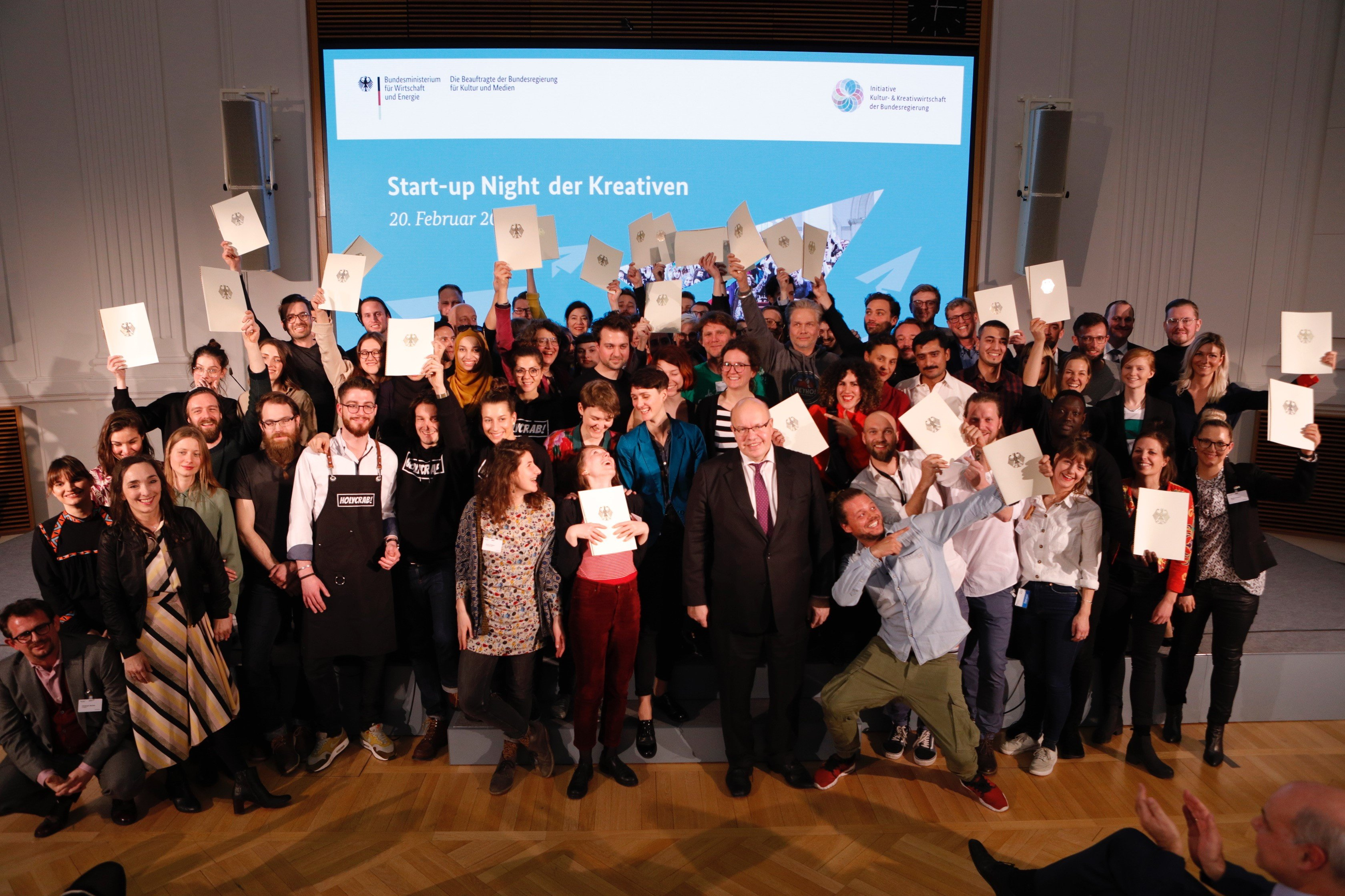 Federal Minister of Economy Peter Altmaier at the Forum for Cultural and Creative Industries 2018